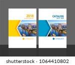 cover design for annual report... | Shutterstock .eps vector #1064410802