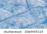 colorful marble texture pattern  | Shutterstock . vector #1064455115