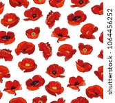 vector seamless pattern with... | Shutterstock .eps vector #1064456252