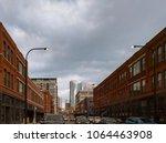 west fulton market. chicago ... | Shutterstock . vector #1064463908