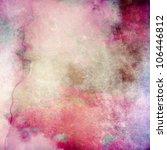 pink grunge paper texture  art... | Shutterstock . vector #106446812