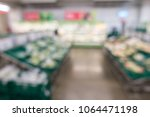 defocused of vegetables and... | Shutterstock . vector #1064471198