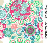 seamless vector background with ... | Shutterstock .eps vector #106450562
