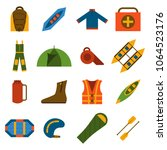 vector illustration with flat...   Shutterstock .eps vector #1064523176