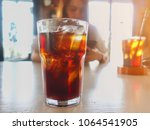 selective focus of soft drink... | Shutterstock . vector #1064541905