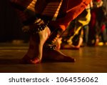 dance form indian classical... | Shutterstock . vector #1064556062