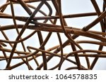 intertwined branches texture | Shutterstock . vector #1064578835