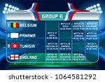 russia world cup 2018 football. ... | Shutterstock .eps vector #1064581292