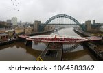 newcastle  england   march 6 ...   Shutterstock . vector #1064583362