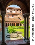 staffarda  piedmont  italy  ... | Shutterstock . vector #1064591768