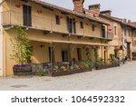 staffarda  piedmont  italy  ... | Shutterstock . vector #1064592332