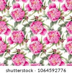 seamless pattern with... | Shutterstock . vector #1064592776