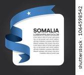 somalia flag background | Shutterstock .eps vector #1064598542