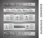 web design elements | Shutterstock .eps vector #106463018