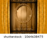 beautiful splendor of oval... | Shutterstock .eps vector #1064638475