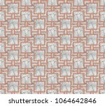 3d illustration of a seamless... | Shutterstock . vector #1064642846