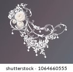ranunculus  flowers for your... | Shutterstock .eps vector #1064660555