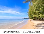 sunnay sea at hat chao lao... | Shutterstock . vector #1064676485