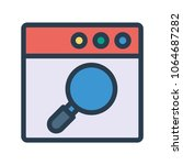 search find browsing  | Shutterstock .eps vector #1064687282