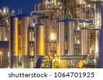 chemical industry detail... | Shutterstock . vector #1064701925