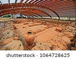 crete island  greece  may 23 ... | Shutterstock . vector #1064728625