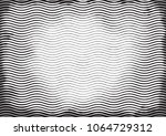 halftone engraving black and... | Shutterstock . vector #1064729312