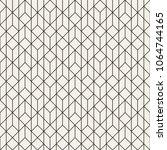 vector seamless pattern. modern ... | Shutterstock .eps vector #1064744165