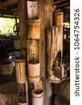 fishing equipment and kitchen...   Shutterstock . vector #1064754326