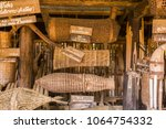 fishing equipment and kitchen...   Shutterstock . vector #1064754332