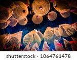 spiral incense at thien hau... | Shutterstock . vector #1064761478