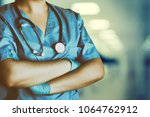 medicine doctor at the hospital | Shutterstock . vector #1064762912