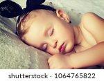 little newborn baby | Shutterstock . vector #1064765822