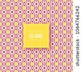 seamless pattern in islamic... | Shutterstock .eps vector #1064766242