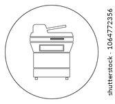 multifunction printer or... | Shutterstock .eps vector #1064772356