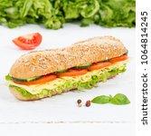 Sub Sandwich Whole Grain Grains ...