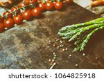 composition with fresh...   Shutterstock . vector #1064825918
