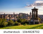 edinburgh skyline as viewed... | Shutterstock . vector #1064828702