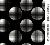 seamless geometric monochrome... | Shutterstock .eps vector #1064835518