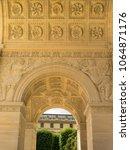parisian arch in france  paris | Shutterstock . vector #1064871176