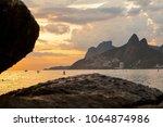 rio de janeiro  brazil  ... | Shutterstock . vector #1064874986