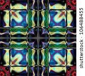 art vintage glasses geometric... | Shutterstock . vector #106488455