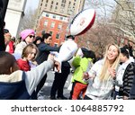 new york city   june 6 2018 ... | Shutterstock . vector #1064885792