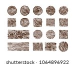 wood and timber texture symbol... | Shutterstock .eps vector #1064896922