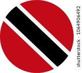 trinidad and tobago flag vector ... | Shutterstock .eps vector #1064906492