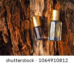 arabic oil oud natural... | Shutterstock . vector #1064910812