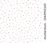 irregular polka dot. repeating... | Shutterstock .eps vector #1064942165