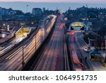 istanbul  turkey   february 1 ... | Shutterstock . vector #1064951735
