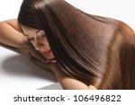 portrait of beautiful woman... | Shutterstock . vector #106496822