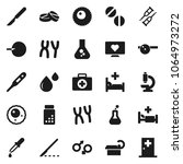 flat vector icon set   flask...   Shutterstock .eps vector #1064973272