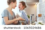 preparation of a family...   Shutterstock . vector #1065024686